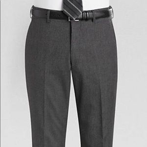 Suits & Blazers - Alta Moda Double Breasted Slim Fit Suit w/ Pants